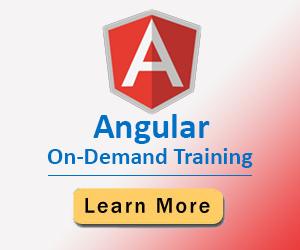 Angular On-Demand Training