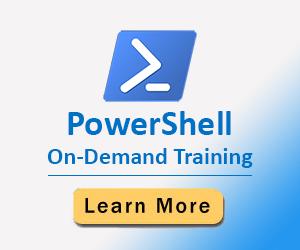 PowerShell On-Demand Training