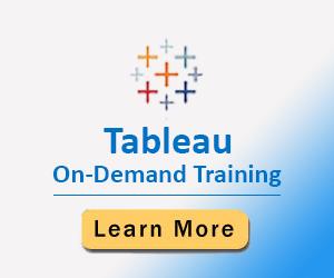 Tableau On-Demand Training