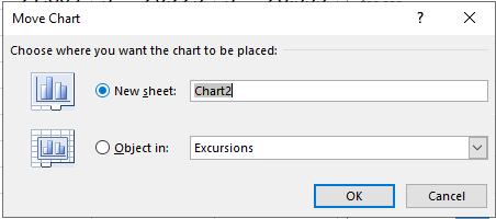 Step 4: Select the New Sheet Option