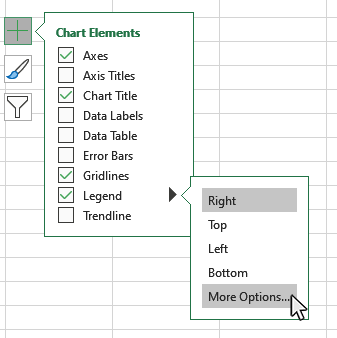 Step 5: Format your Chart Legend